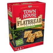Town House Flatbread Crisps Crackers, Italian Herb, 9.5 Oz