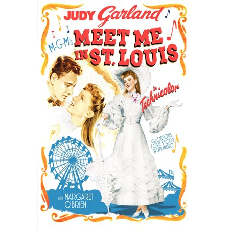 Meet Me in St. Louis (1944) 11x17 Movie Poster (Meet Me In St Louis On Tv)