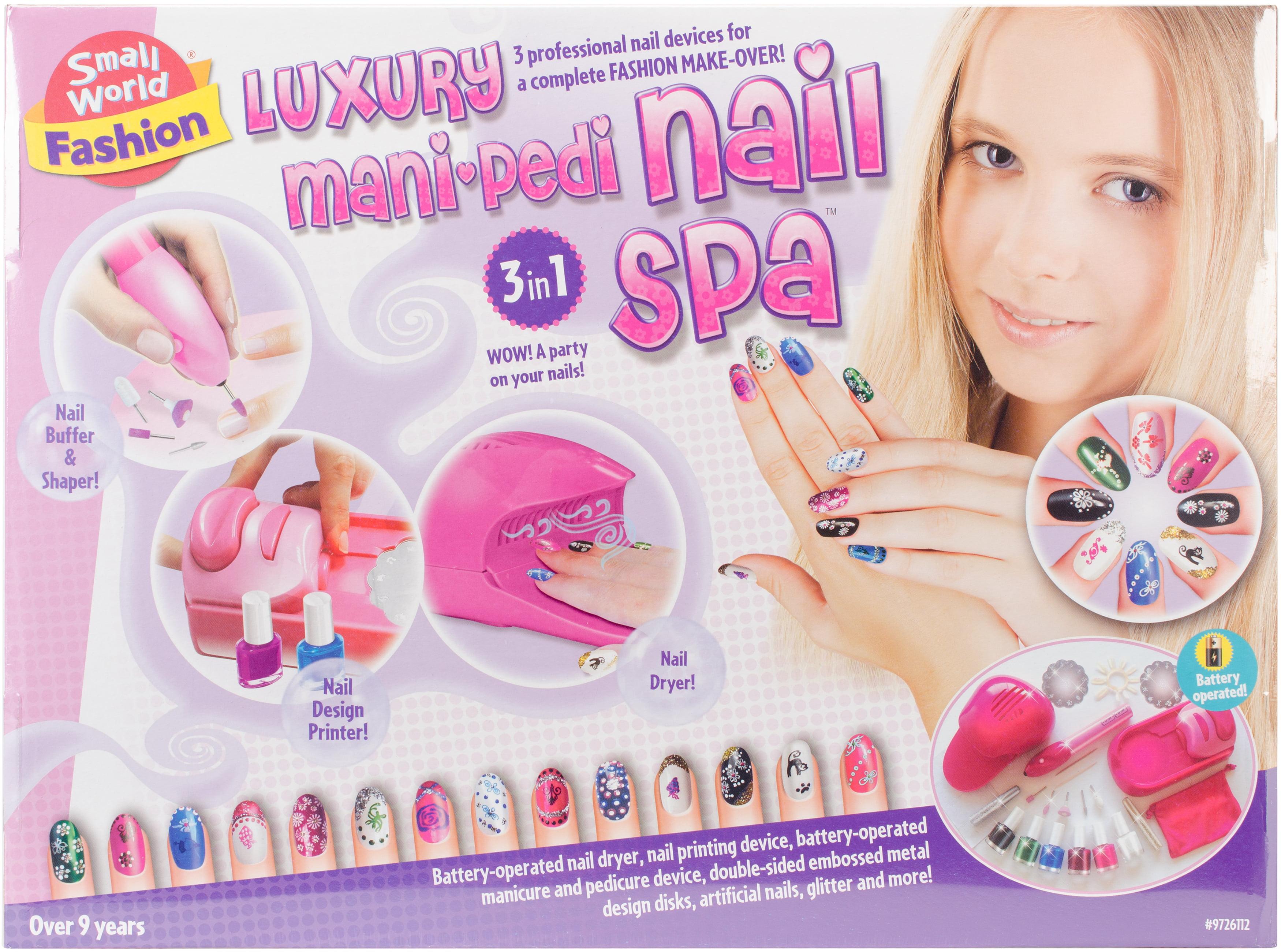 Luxury Mani-Pedi Nail Salon-