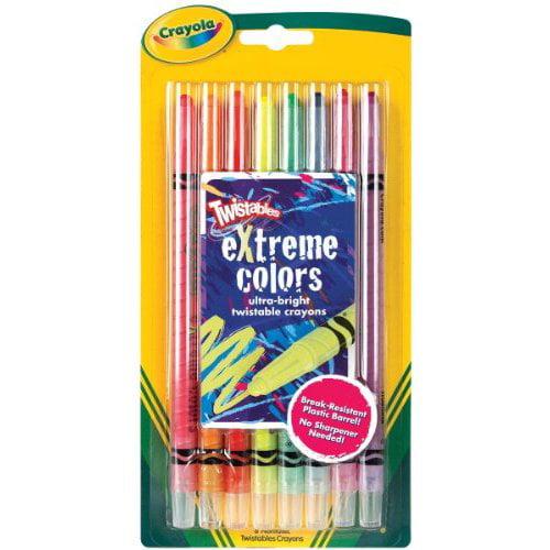 Bulk Buy: Crayola Twistables Extreme Crayons 8/Pkg-Bright Neon (3-Pack)