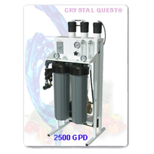 Crystal Quest CQE-CO-02027 Commercial Reverse Osmosis 2 500 GPD Water Filter System