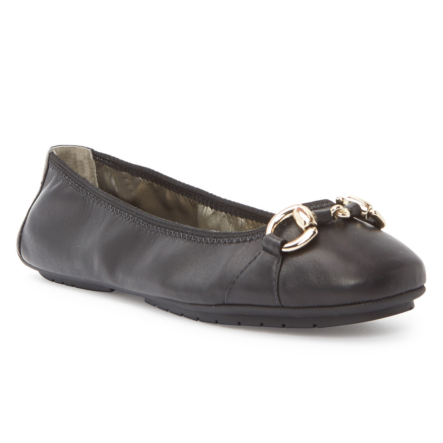 Me Too Women's Legend2.0 Nappa Leather Padded Flats by Overstock