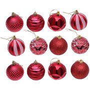 Reactionnx Christmas Ball Ornaments Tree Ornaments Small Shatterproof Christmas Decorations Tree Balls for Holiday Wedding Party Decoration, Tree Ornaments