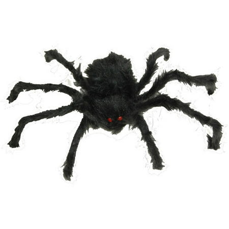 Hairy Poseable Spider Halloween Decoration (Halloween Spider Nail Art)