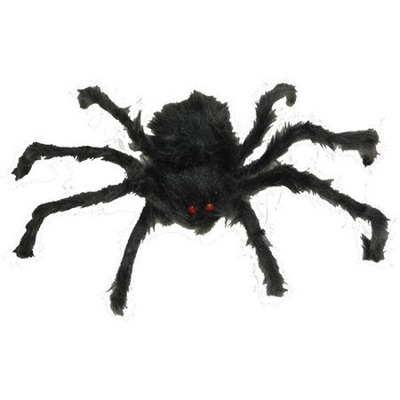 Hairy Poseable Spider Halloween Decoration