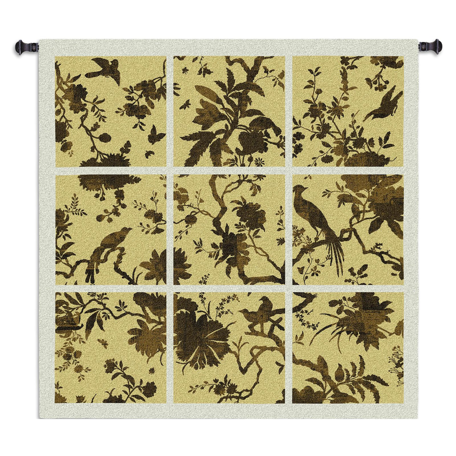 Fine Art Tapestries Floral Division Wall Tapestry