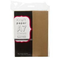 Envelopes Kraft A7 5.25X7.25 50Pk