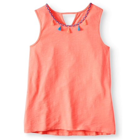 Girls 70s Clothes (Tassle Trim Tank Top (Little Girls, Big Girls & Big Girls)