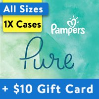 [Buy 1, Get $10 Gift Card] Pampers Pure Protection Diapers, OMS Pack (Choose Your Size)