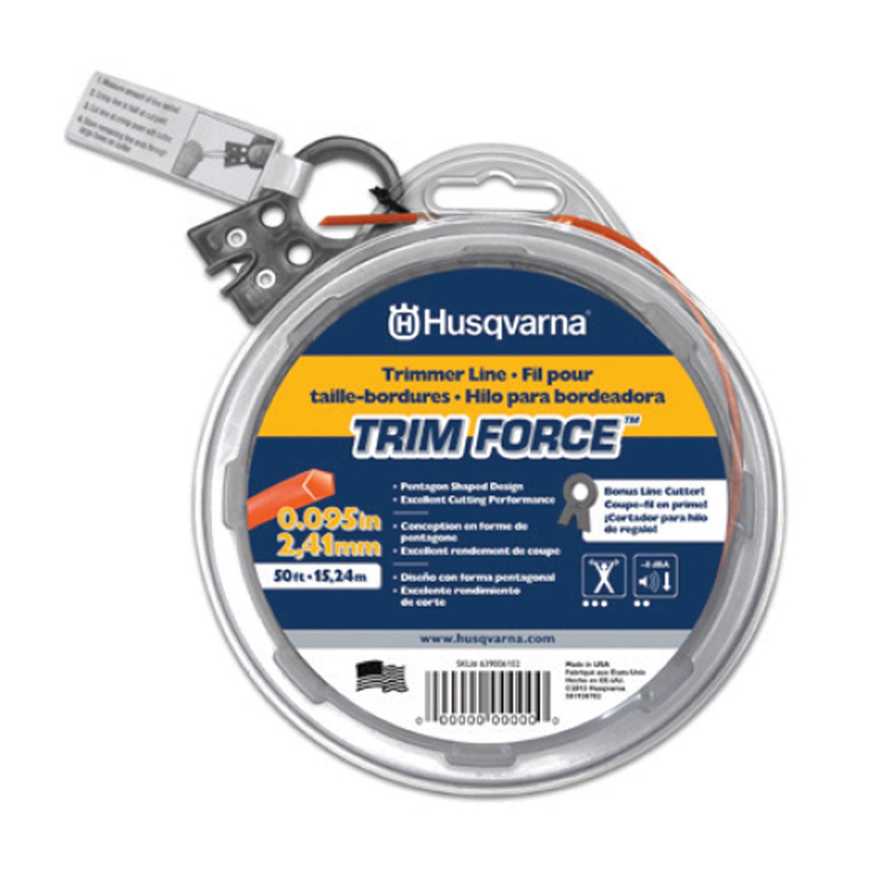 Desert Extrusion Super Trim SSQ095PL .095-in x 40-ft Orange Trimmer Line