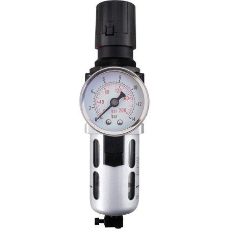 Modular Air Filter/Regulator (Gauge Included) - Connection Size: 3/8