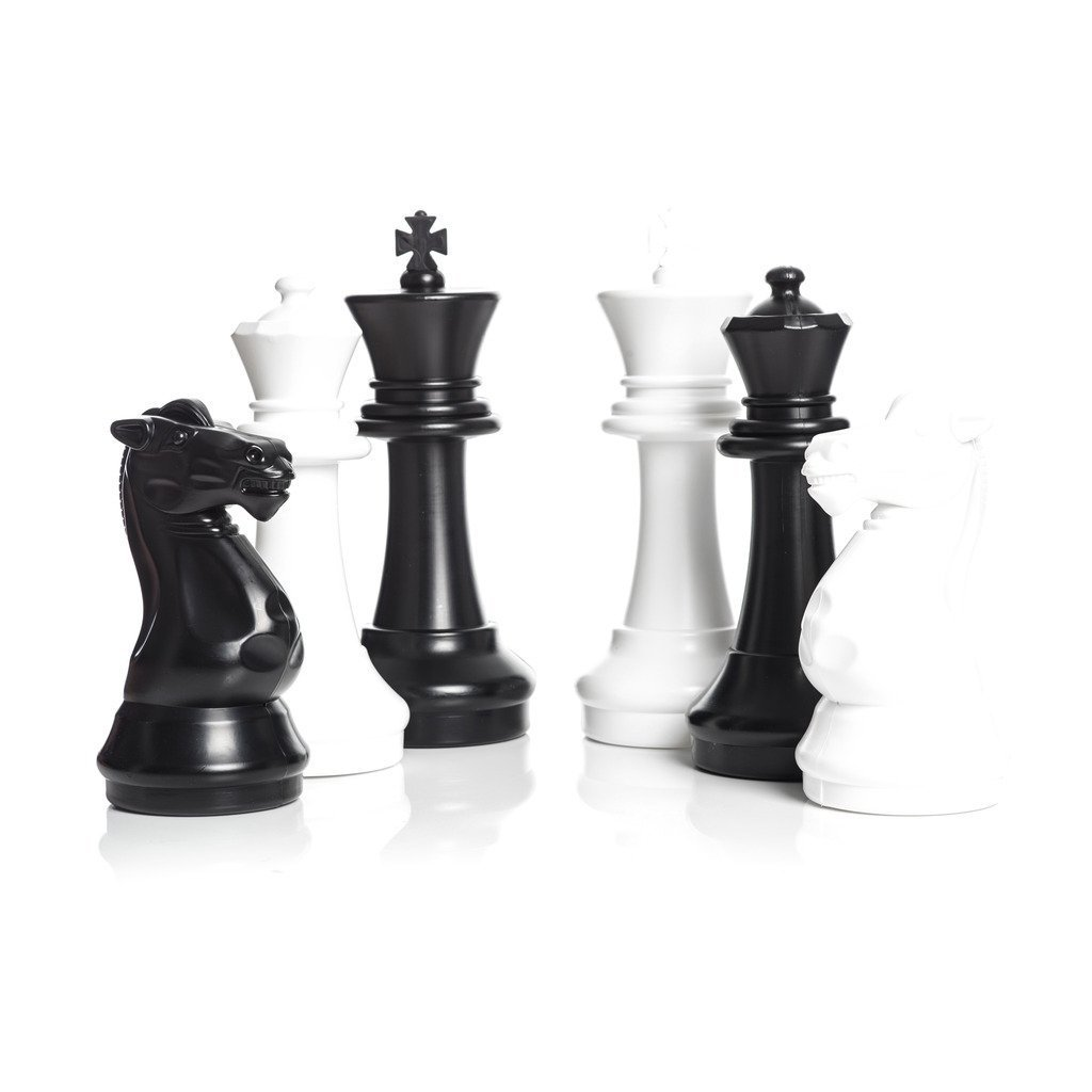 MegaChess 16 Inch Plastic Chess Set (no Board) by MegaChess