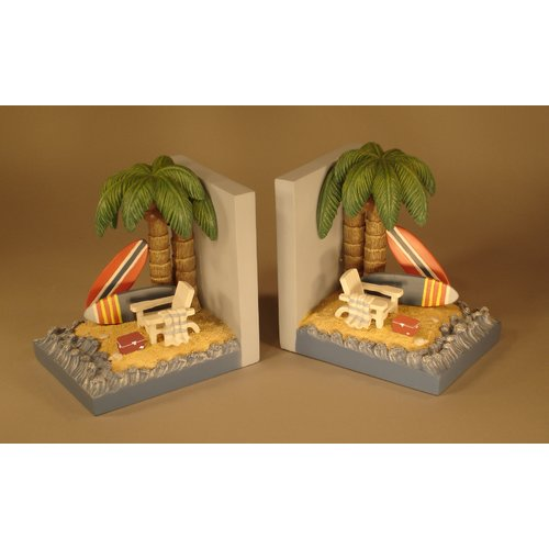 Judith Edwards Designs Surfn' Book Ends