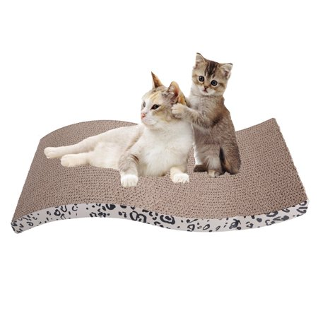 Zimtown Wave Corrugated Cardboard Recyclable Cat