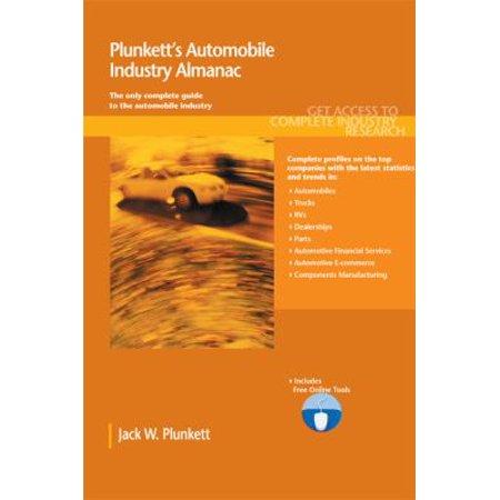 Plunketts Automobile Industry Almanac 2011