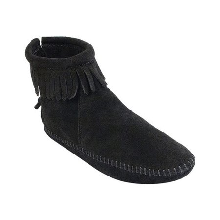 Women's Back Zipper Boot Softsole