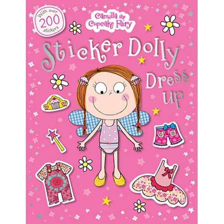 Camilla the Cupcake Fairy Sticker Dolly Dress Up