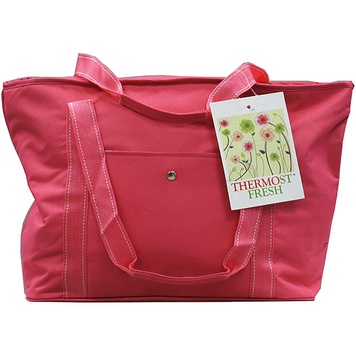 Quest Eco-Friendly Insulated Grocery Bag, Fuschia