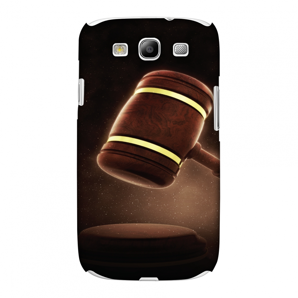 Samsung GALAXY S III GT-I9300 Case, Premium Handcrafted Designer Hard Shell Snap On Case Printed Back Cover with Screen Cleaning Kit for Samsung GALAXY S III GT-I9300, Slim, Protective - Lawyers 2