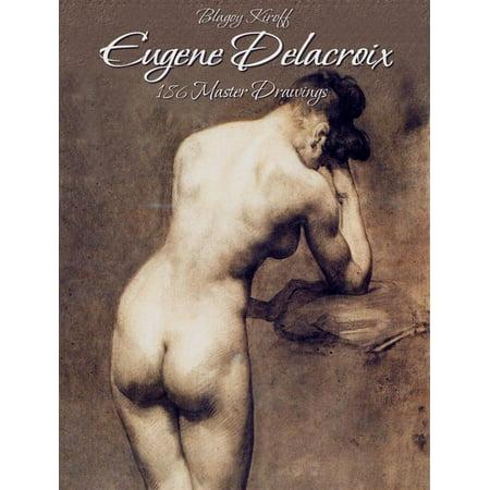 Eugene Delacroix: 186 Master Drawings - eBook (The Massacre At Chios By Eugene Delacroix)