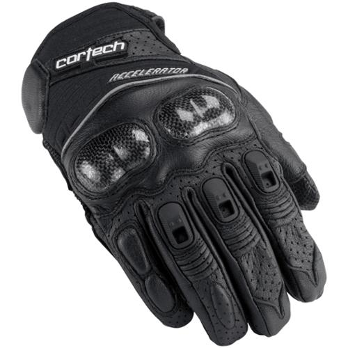 Cortech Accelerator Series 3 Leather Gloves Black