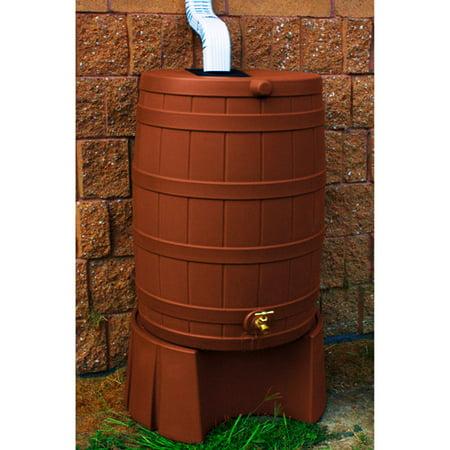 Rain Wizard Plastic Rain Barrel - Half Plastic Barrel