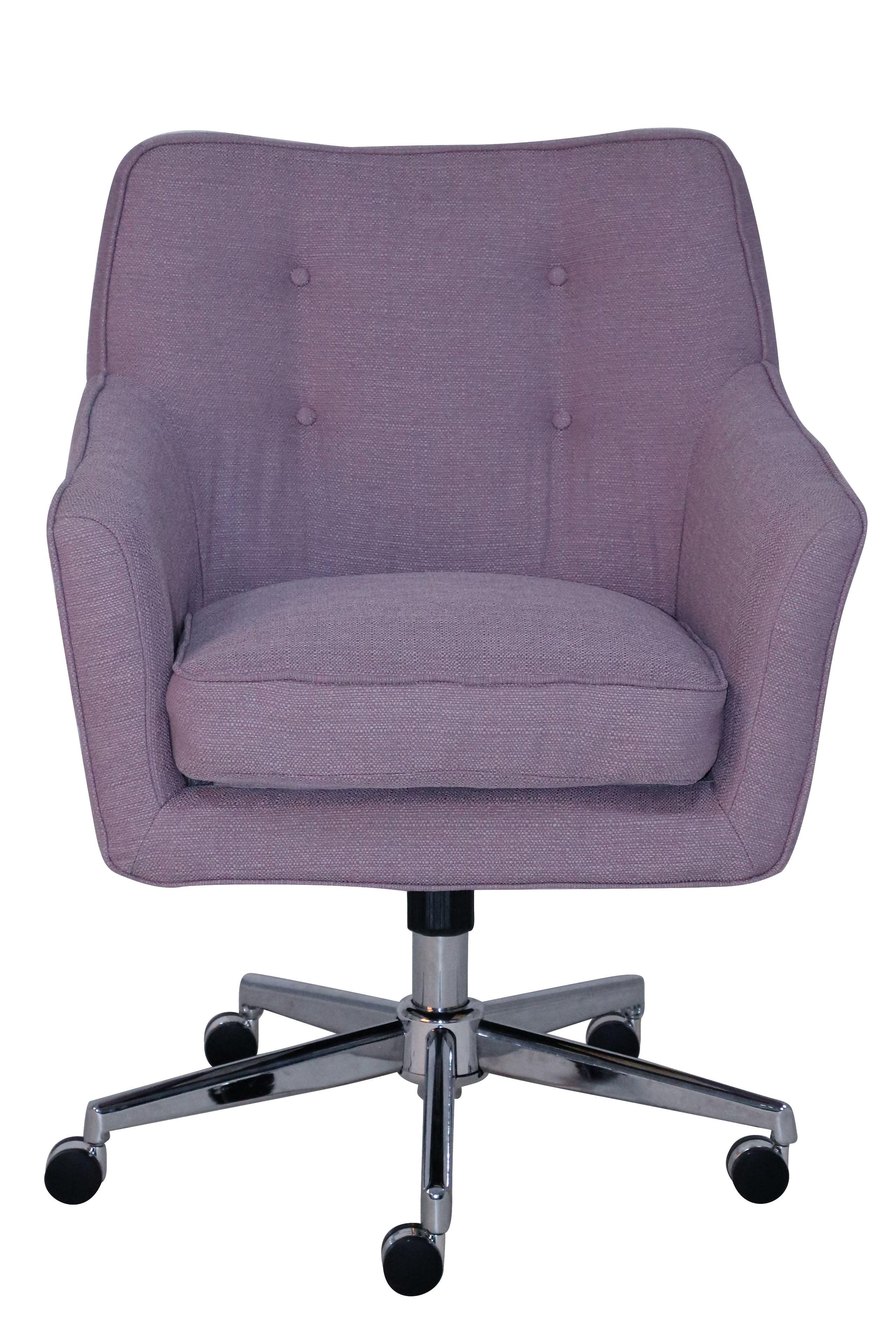 Serta Style Ashland Home Office Chair Lilac Twill Fabric Walmart Com Walmart Com