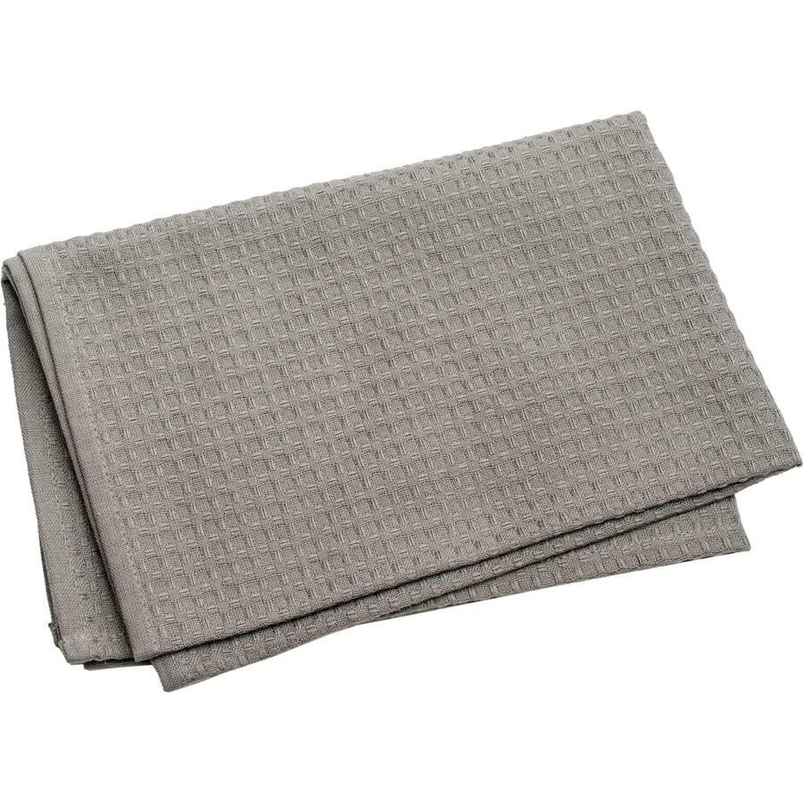 "Waffle Weave Towel, 20"" x 28"", Gray"