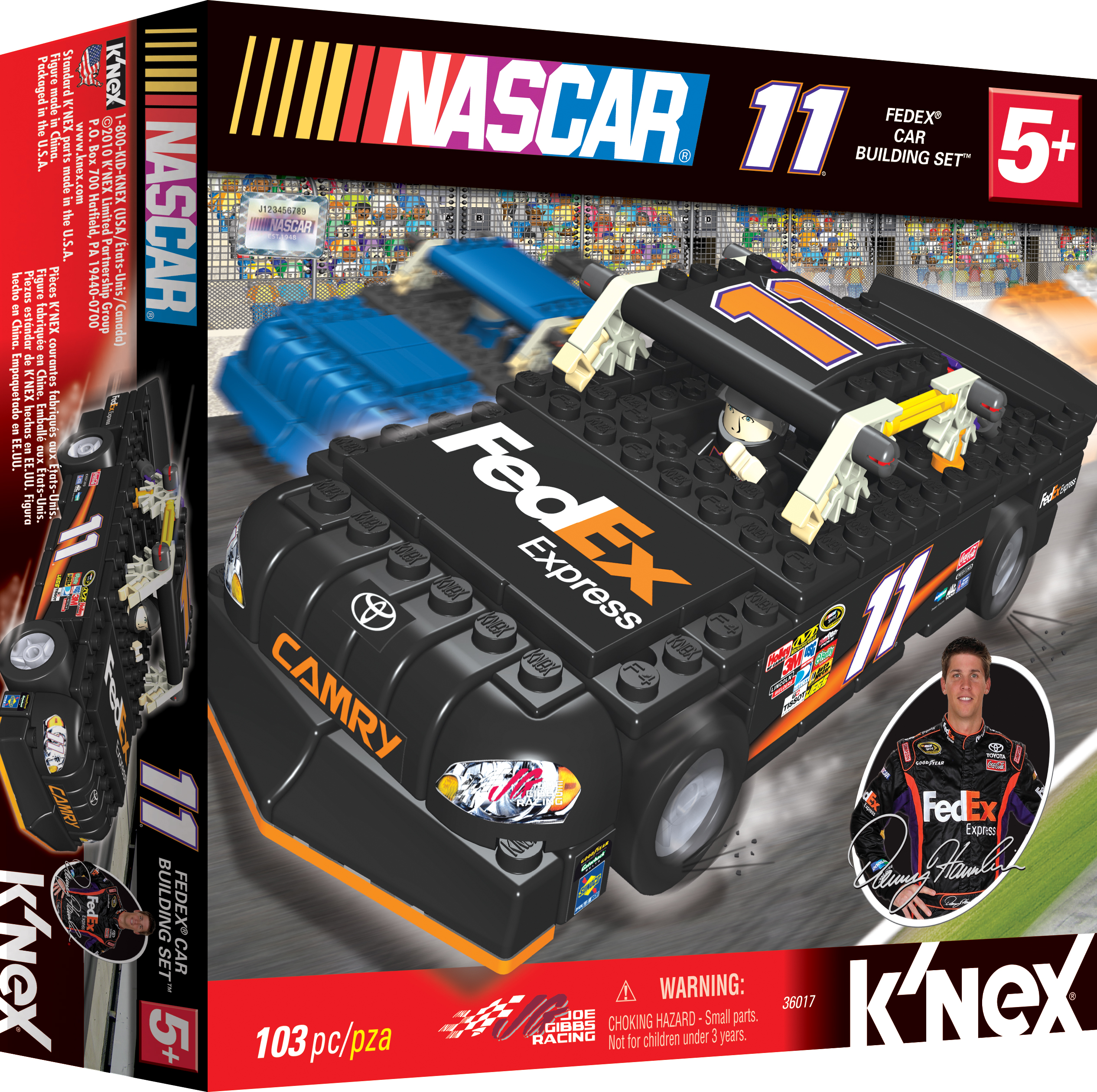 K'NEX #11 FEDEX CAR BUILDING SET