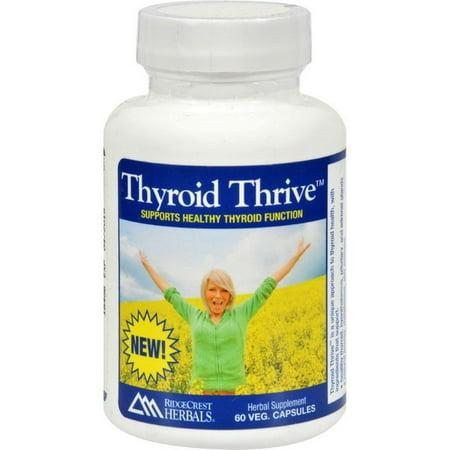 Ridgecrest Herbals Thyroid Thrive - Herbal - 60 Vcaps - image 1 de 1
