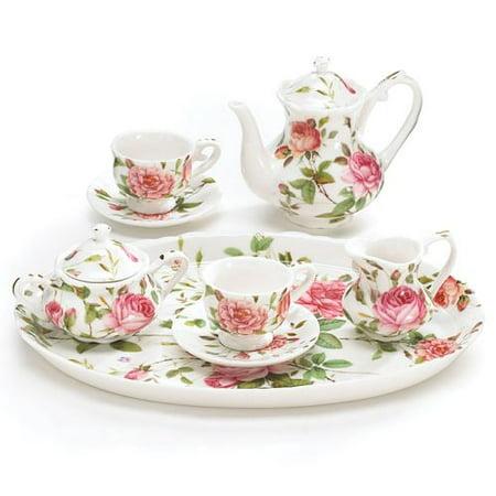 Mini Open Sugar Bowl - Burton & Burton Mini Saddlebrooke Tea Set