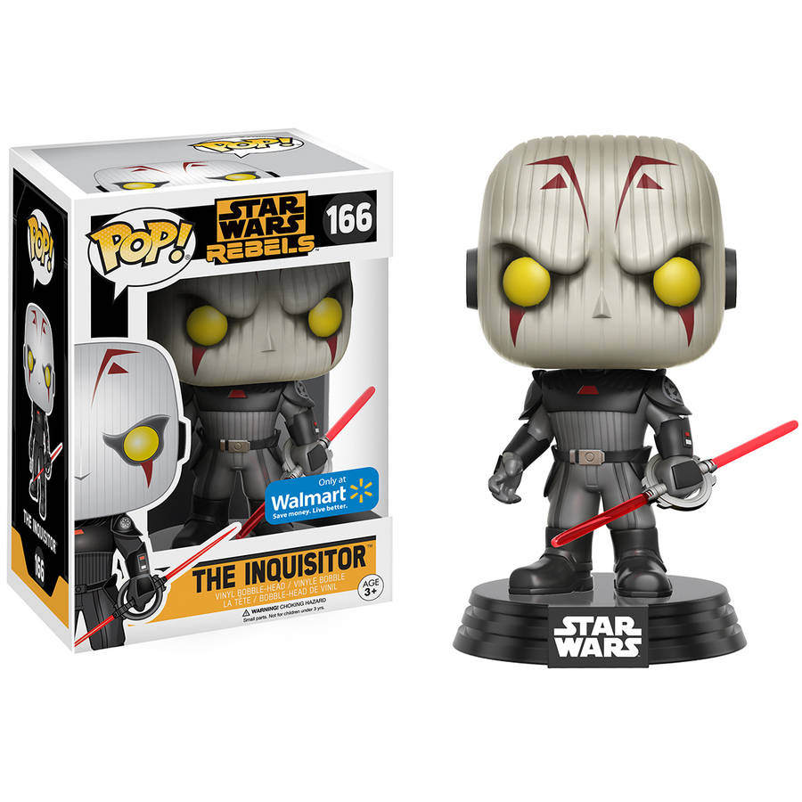 Pop!® Star Wars Rebels™ The Inquisitor 166 Vinyl Bobble-Head