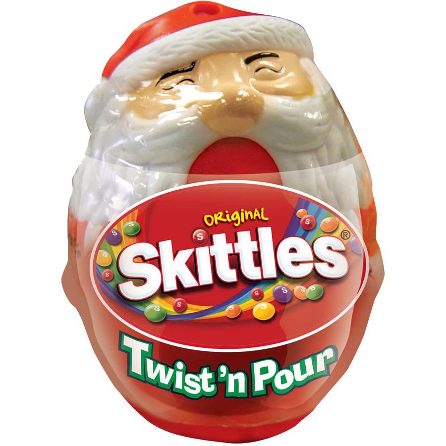 Skittles Original Santa Twist & Pour Holiday Gift