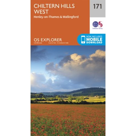 - OS Explorer Map (171) Chiltern Hills West, Henley-on-Thames and Wallingford (Map)