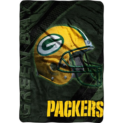 NFL Green Bay Packers Micro Raschel Blanket Walmart Unique Green Bay Packers Throw Blanket