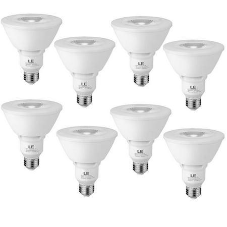 Lighting EVER 11W PAR30 Dimmable LED Bulbs, 2700K Warm White Spotlight Light Bulbs, 75W Halogen Bulb Equivalent,  8 Pack
