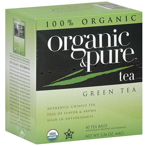 Generic Organic & Pure Green Tea, 40bg (pack Of 6)