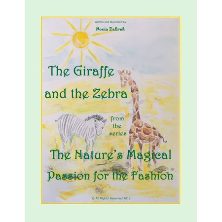 The Giraffe And The Zebra From The Series The Nature's Magical Passion For The Fashion - -