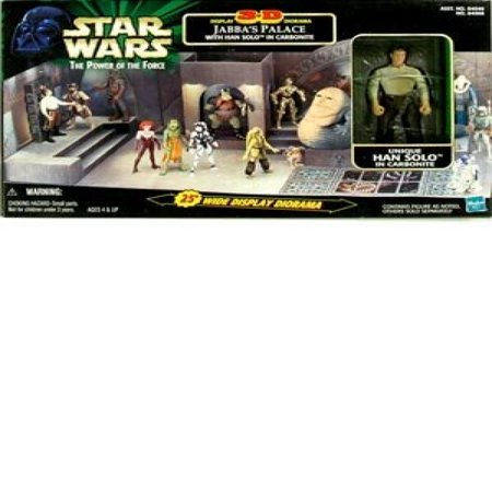 Star Wars: Power of the Force > Jabbas Palace 3-D Display Diorama with Han So... - Jabba The Hutt Pet