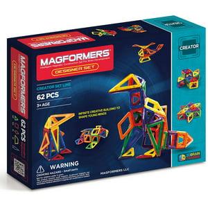 Magformers Designer 62-Piece Magnetic Construction Set