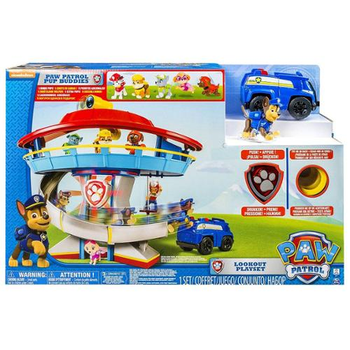 Paw Patrol Lookout HQ Playset [with 5 Bonus Pups!]