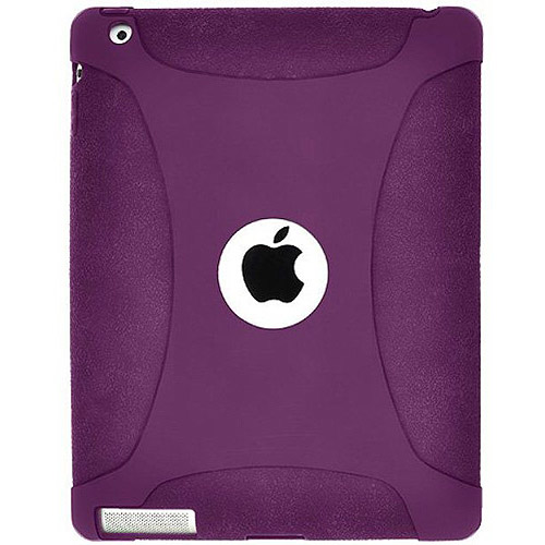 Amzer Silicone Skin Jelly Case for New iPad