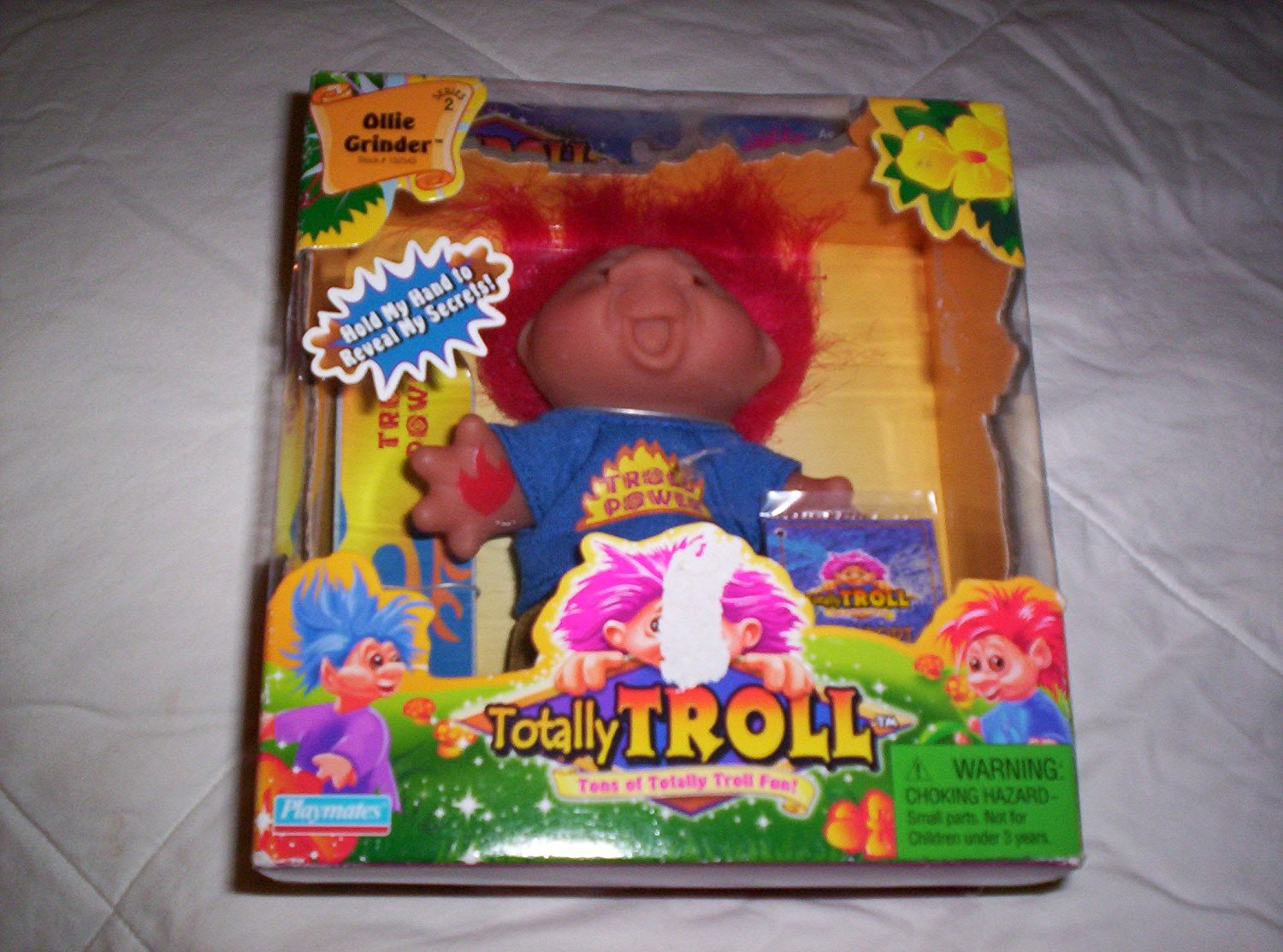 Totally Troll Doll-Ollie Grinder, Ages 4+ By PlaymatesDam