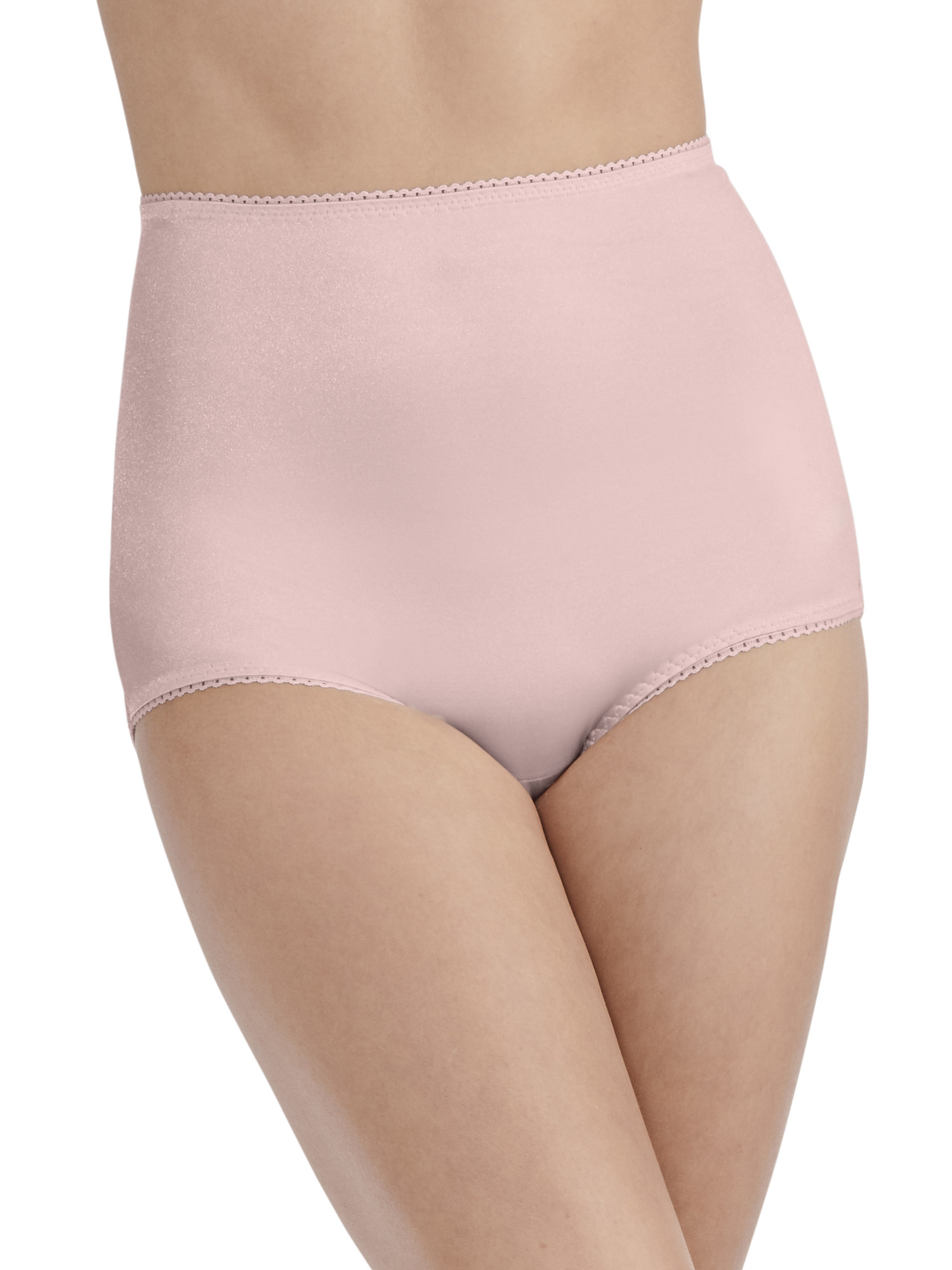 Women's Undershapers Light Control Brief Panty, 3 Pack, Style 3440301