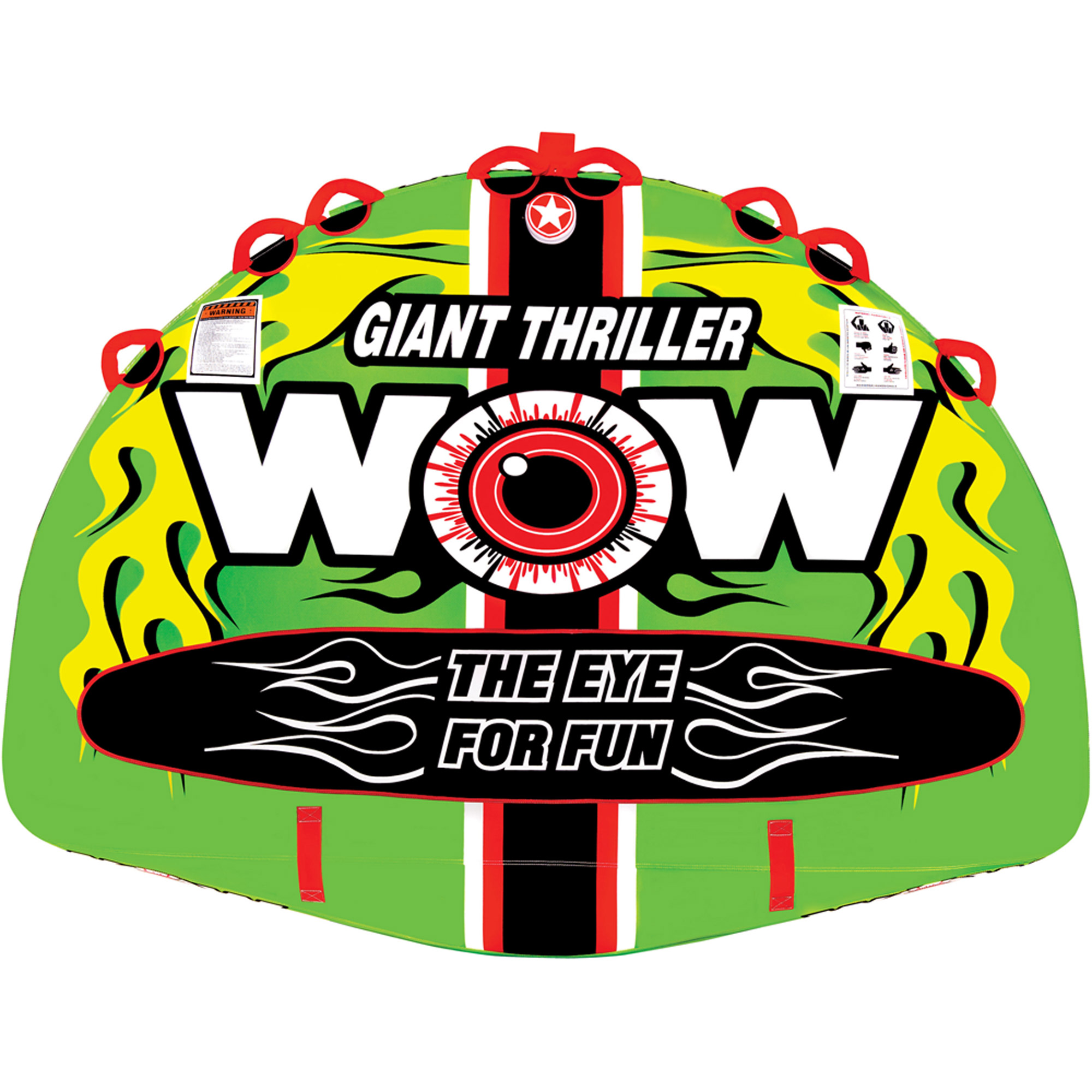 WOW Sports 11-1090 Giant Thriller Towable, 4-Rider by Generic