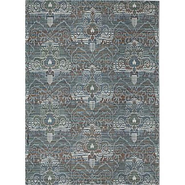 Rugs America 25424 Brooklyn Tan Ivory Rectangle Floral Rug, 7 ft. 10 in. x 10 ft. 10 in. - image 1 of 1