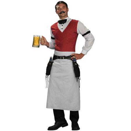 Bartender Adult Costume - Beer Bottle Halloween Costume Make