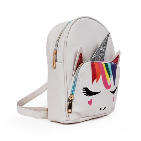 Rainbow Unicorn Critter Mini Backpack](Rainbow Backpack)