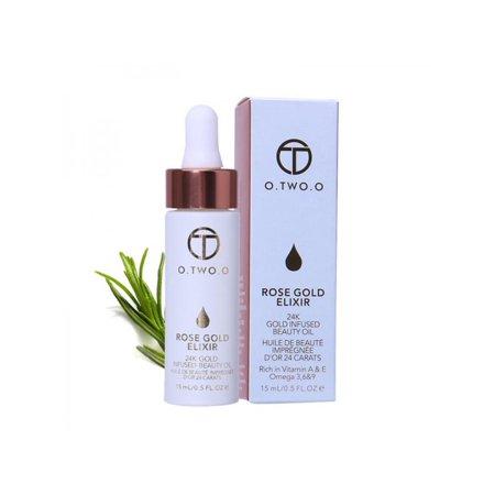 Lip Brightening - Topumt 24k Rose Gold Anti-aging Elixir Skin Lip Moisturizing Skin Brightening Makeup