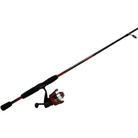 Shakespeare reverb spinning reel and fishing rod combo for Fishing pole walmart